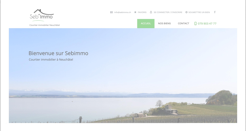 Agence immobilière Sebimmo